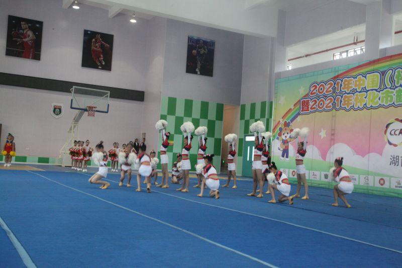 2021年中国(怀化)少儿啦啦操精英赛暨2021年怀化市鹤城区校园啦啦操锦标赛盛大开幕插图(8)