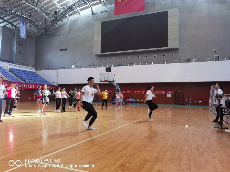 2021年淮南市凤台县啦啦操教练员、裁判员培训班圆满结束插图(9)