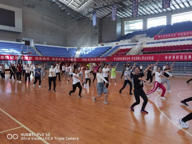 2021年淮南市凤台县啦啦操教练员、裁判员培训班圆满结束插图(5)