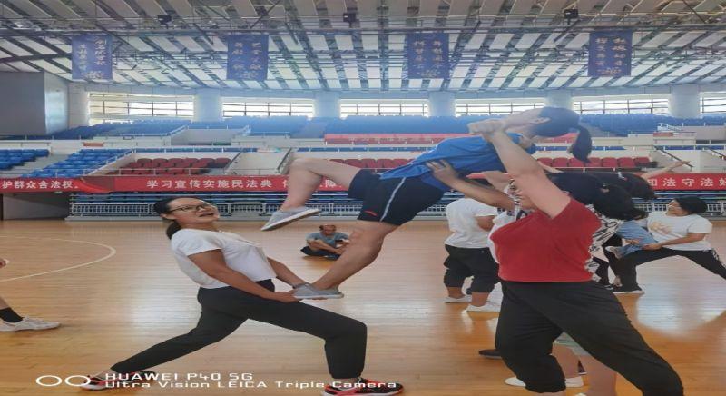 2021年淮南市凤台县啦啦操教练员、裁判员培训班圆满结束插图(8)