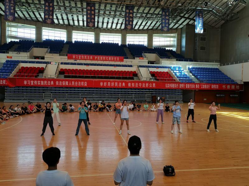 2021年淮南市凤台县啦啦操教练员、裁判员培训班圆满结束插图(10)