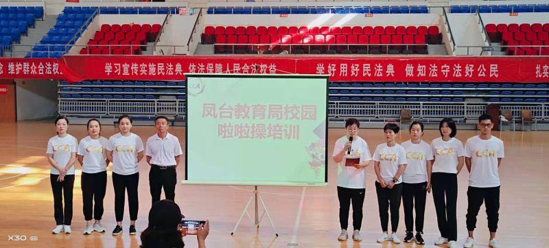 2021年淮南市凤台县啦啦操教练员、裁判员培训班圆满结束插图(1)