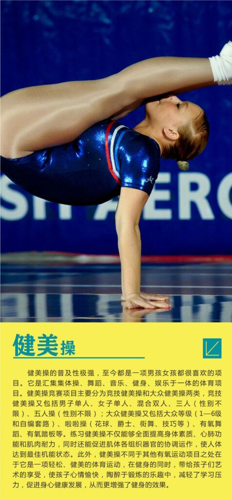 培训项目:  竞技健美操插图(1)