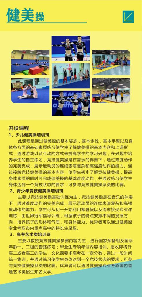 培训项目:  竞技健美操插图(3)