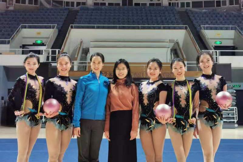 清华艺术体操队首高获佳绩!插图(1)