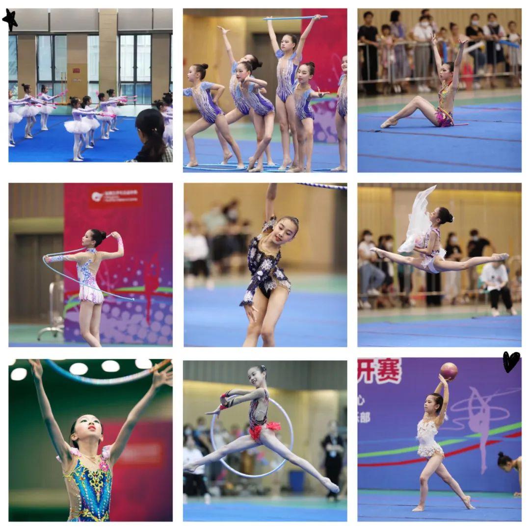 2021杭州市第二届少儿艺术体操公开赛顺利举行插图(7)