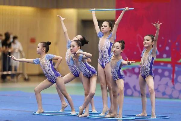 2021杭州市第二届少儿艺术体操公开赛顺利举行插图(5)
