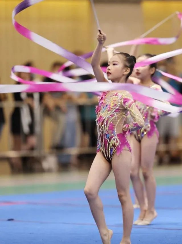 2021杭州市第二届少儿艺术体操公开赛顺利举行插图